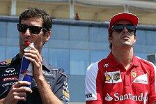 Formel 1 - R�ikk�nen macht Vettel Feuer unter den Hintern: Heidfeld: Alonso macht Politik