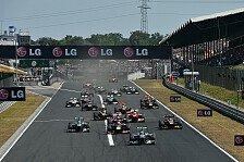 Formel 1 - Bilderserie: Ungarn GP: Fakten zum Rennen in Budapest