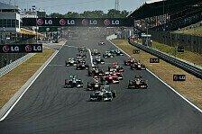 Formel 1 - Schwitzen vor der Sommerpause: Ungarn-Vorschau: Team f�r Team