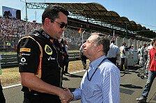 Formel 1 - Infinity wird Probleme l�sen: Boullier schw�rzt Top-Teams an