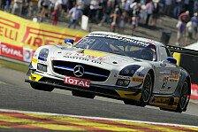 Blancpain GT Serien - Klaus Graf verunfallt: Rowe in Spa auf Podiumskurs ausgefallen