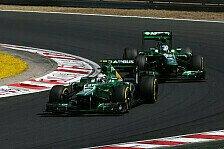 Formel 1 - Caterham - Zu sp�t bei der Musik: Saisonbilanz 2013: Caterham