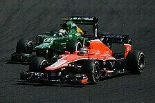 Formel 1 - Faires Ergebnis: Van der Garde glaubt an P10