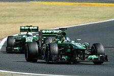 Formel 1 - Keine weiteren Updates: Caterham schwenkt Fokus auf 2014