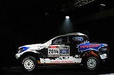 Dakar - Bilder: Ford pr�sentiert den Ranger f�r 2014