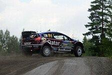 WRC - Latvala erleidet Aufh�ngungsbruch: Hirvonen und Neuville zeitgleich vorne
