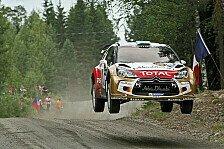 WRC - Wetterprognose beeinflusst Entscheidung: Hirvonen startet als Letzter