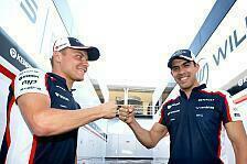 Formel 1 - Massa ist schneller: Maldonado stichelt gegen Bottas