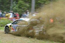 WRC - �stberg beklagt Steine-Lotterie: Ogier am Ende von Tag zwei in F�hrung