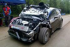 WRC - Bruchlandung statt Durchbruch: Evgeny Novikov - das Crashkid 2013