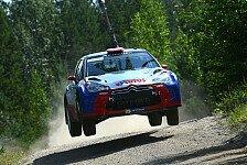 WRC - So vieles schiefgelaufen: Video - Tag 3 in Finnland aus Sicht von Citroen