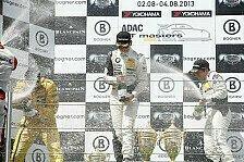 ADAC GT Masters - Safety-Car-Phase verhindert Gesamtsieg: Doppelsieg f�r Toni Seiler auf dem N�rburgring