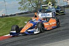 IndyCar - Dreimal Honda vorne: Mid-Ohio: Kimball holt ersten IndyCar-Sieg