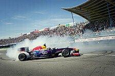Formel 1 - Bilder: Coulthard: Showrun in Assen
