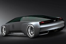 Auto - Filmauto Audi fleet shuttle quattro zeigt futuristisches Design: Audi gestaltet Science-Fiction-Auto