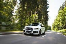 Auto - Stufenloser Verstellbereich: H�henverstellbare KW Feders�tze f�r Audi Q5 + SQ5