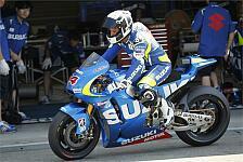 MotoGP - Verbesserungen gegl�ckt: Suzuki: Positives Fazit nach Misano-Test
