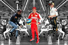Formel 1 - Wer kommt, wer geht?: Das Fahrerkarussell dreht sich