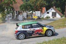 Mehr Rallyes - Hoffentlich nicht das letzte Mal: ARB� Rallye: Baumschlager verwandelt Elfmeter
