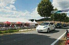 Auto - Meistverkauftes Elektrofahrzeug gewinnt 1. E-Mobil-Berg-Cup: Bergauf mit dem Nissan Leaf
