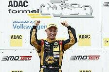 ADAC Formel Masters - Indy Dontje siegt im Chaosrennen: Erfolgreiches Wochenende f�r Team Motopark Lotus