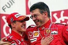 Formel 1 - Brawn versucht, Schumis Erinnerung wiederherzustellen: Spielt Brawn Schumacher Teamradio vor?
