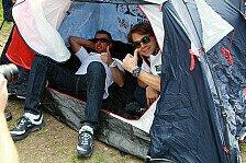 DTM - Die BMW-Piloten am Campingplatz