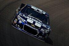 NASCAR - Crash im Training: Unfall: Johnson startet von hinten