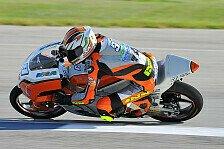 Moto3 - Steigerung am ersten Tag l�sst hoffen: Kiefer Racing schaut nach vorne