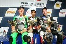 ADAC Junior Cup - Rossi gewinnt chaotisches Regenrennen: Tietze und Schmidt sorgen f�r Abwechslung