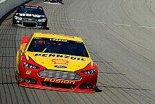 NASCAR - Gordon startet mit dritter Wild Card von Rang sechs: Chase-Auftakt: Pole f�r Logano
