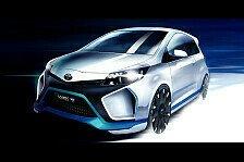 Auto - Weltpremiere des neuen Yaris Hybrid-R Konzepts: Toyota auf der IAA 2013