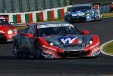 Super GT - Lexus-Piloten f�hren nach Punkten: Super GT: Makowiecki triumphiert in Fernost