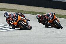 MotoGP - Corti vom Crash erholt: Edwards: Den Schwung mitnehmen und halten