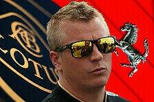 Formel 1 - Die Scuderia ruft: Kommentar - Kimi und Ferrari: Es wird hei�er