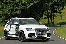 Auto - Dampfhammer und Selbstz�nder-Ikone: B&B Audi SQ5