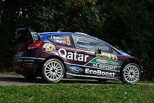 WRC - Unfreiwillige Auszeit in der Wiese: Video - Novikovs Crash in Deutschland