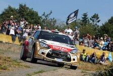 WRC - 4,55 km langer Vorgeschmack : Shakedown: Warm up f�r die ADAC Rallye Deutschland