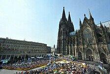 WRC - Auftakt zur ADAC Rallye Deutschland : Rallye-Stars begeistern K�ln
