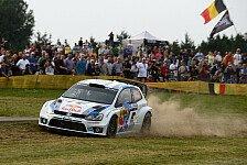 WRC - Von K�ln in die Berge: Video - Deutschland: Die ersten Highlights