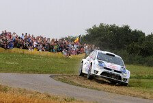 WRC - Kubica mit offener Heckklappe: Latvala �bernachtet mit der F�hrung