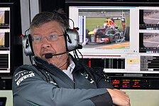 Formel 1 - Alarmstufe Rot bei der Konkurrenz: Brawn: Angst vor der Red-Bull-Dominanz 2014