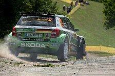 Rallye - Wiegand 2014 mit Skoda in der ERC