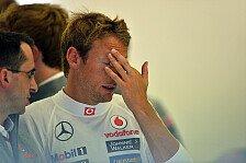 Formel 1 - Schluss mit diesen Geschichten: Button genervt: H�rt mir auf mit Alonso!