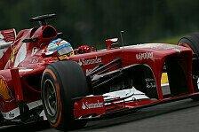 Formel 1 - Alonso wei� nicht, was er sich w�nscht: Ferrari mit verschiedenen Aero-Konfigurationen