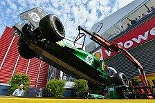 Formel 1 - Ursache noch unklar: Caterham untersucht Abflug