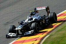 Formel 1 - Ab Singapur Konzentration voll auf 2014: Williams: 2013 nur noch ein Update