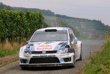 WRC - Ogier gewinnt Arena Panzerplatte: Deutschland: Latvala baut F�hrung aus