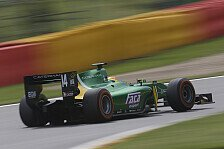 GP2 - Stevens und Haryanto testen zwei Tage: Caterham gibt Test-Line-Up bekannt
