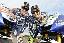 MotoGP - Keinerlei Streitigkeiten: Rossi und Lorenzo �berraschten ihren Boss